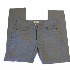 Jeckerson Lux Slim Fit Low Waist Pinstriped Pants
